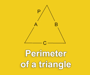 Calculate the perimeter of a triangle