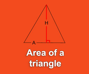 Calculate the air of a triangle